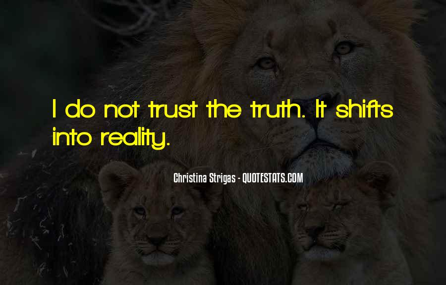 Trust Sayings And Quotes #329941