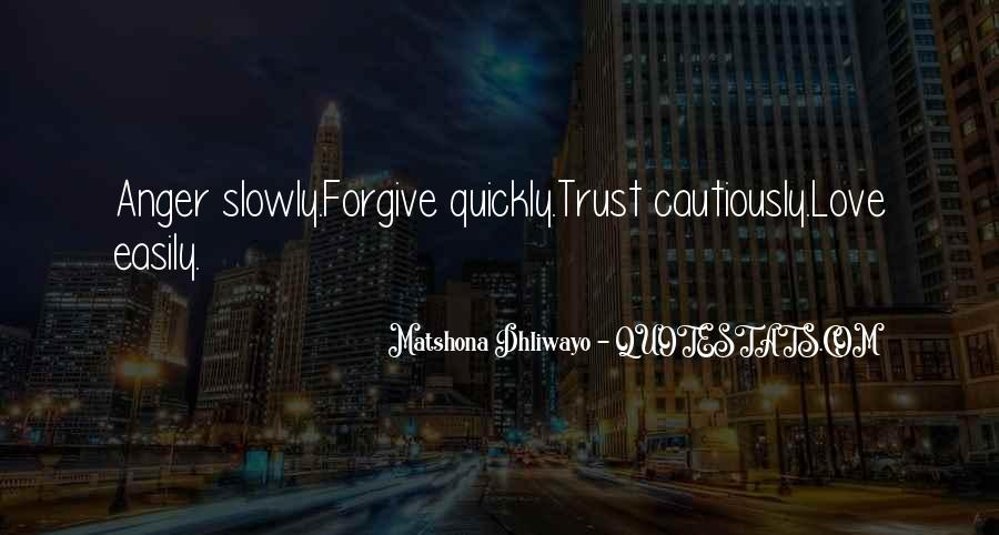Trust Sayings And Quotes #868050