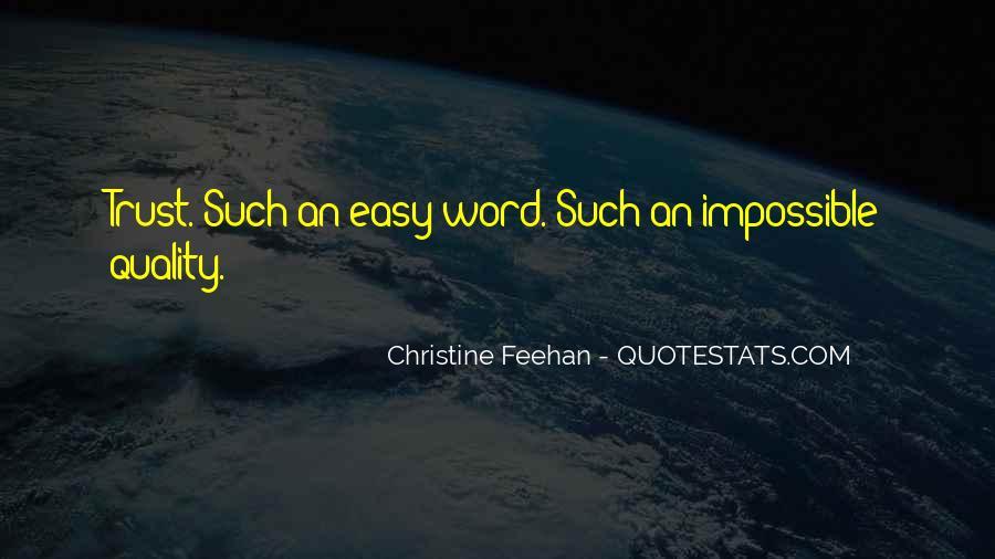 Trust Trust Quotes #16501