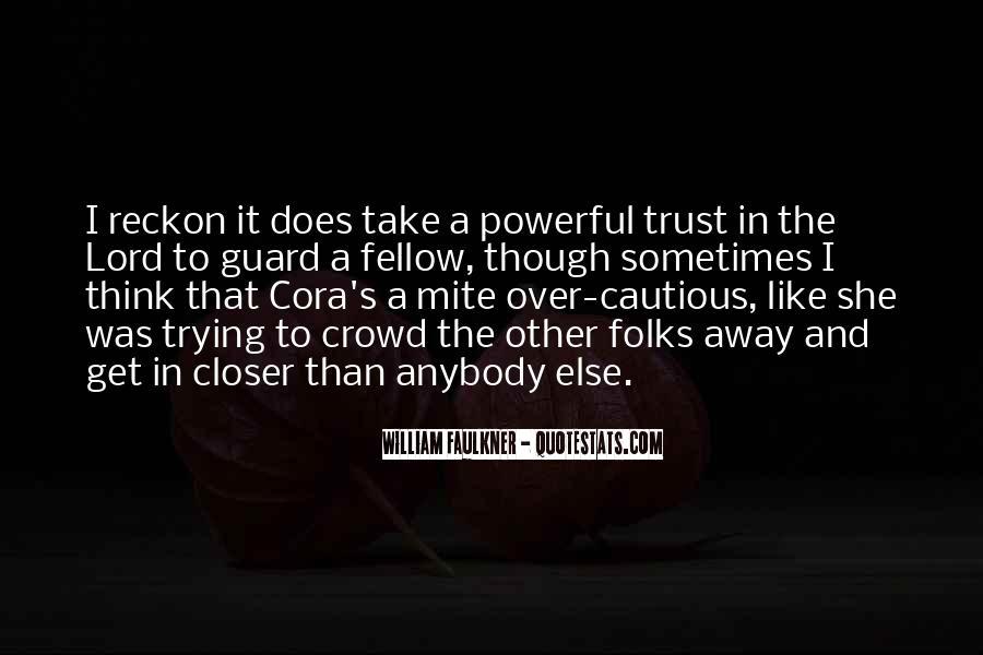 Trust Trust Quotes #2788