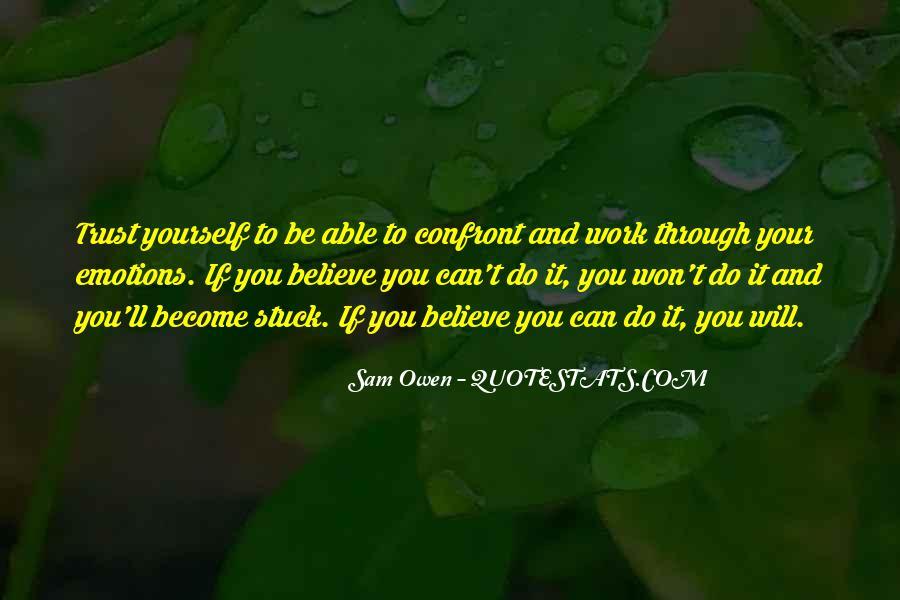 Trust Trust Quotes #3127