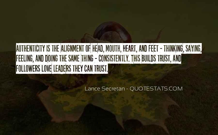Trust Trust Quotes #3964