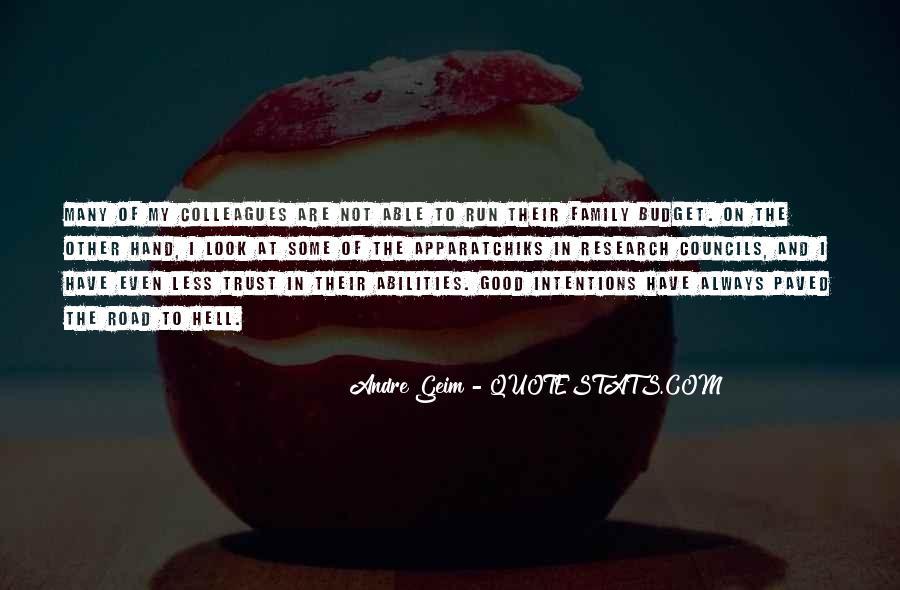 Trust Your Abilities Quotes #1362826