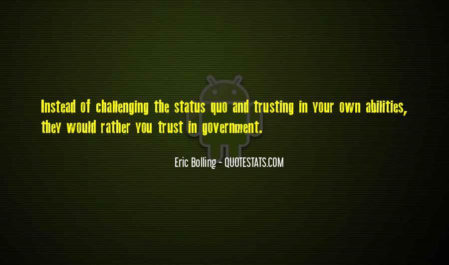 Trust Your Abilities Quotes #69705