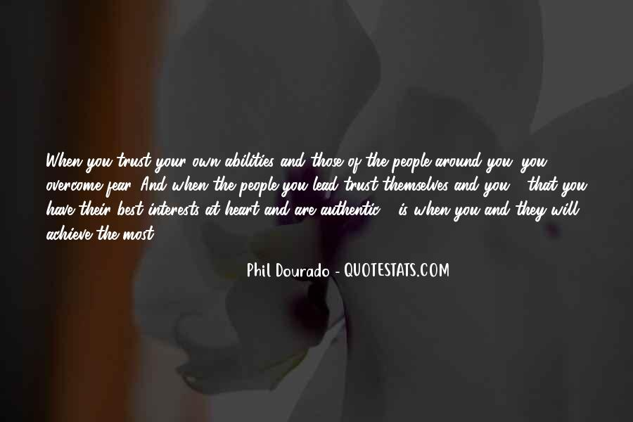 Trust Your Abilities Quotes #955640