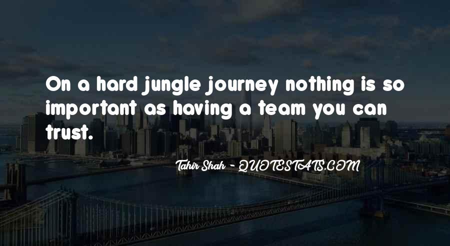 Trust Your Team Quotes #167671