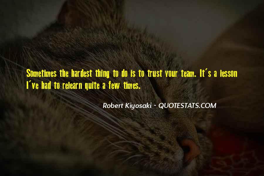 Trust Your Team Quotes #273388