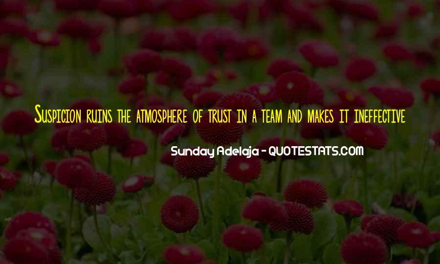 Trust Your Team Quotes #591724
