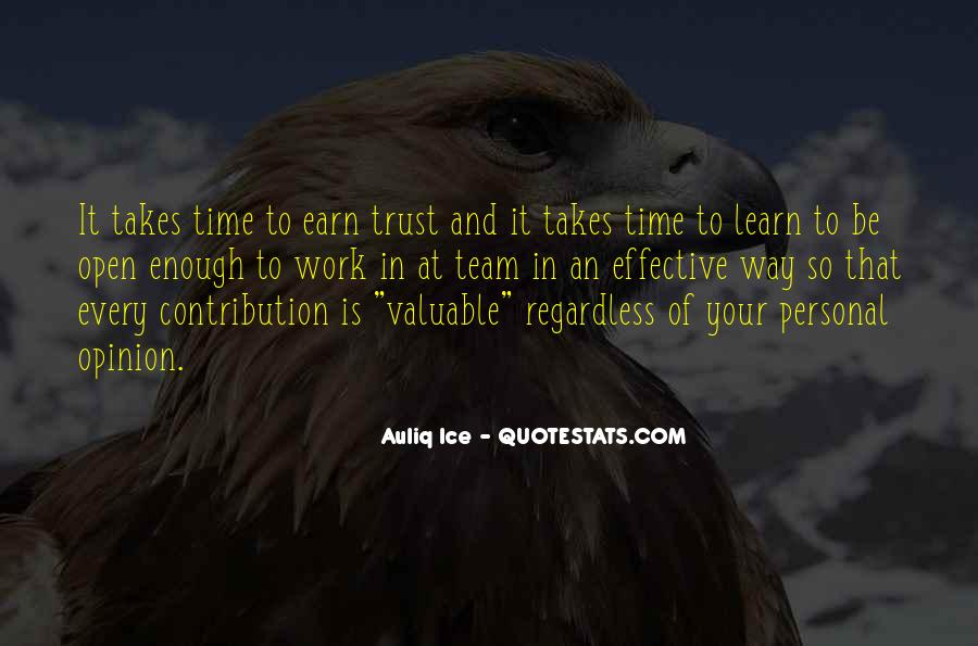Trust Your Team Quotes #816142