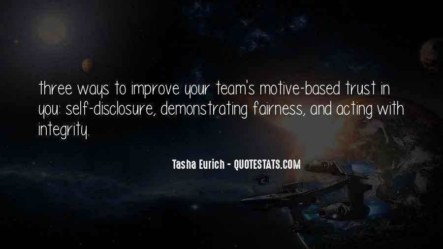 Trust Your Team Quotes #819517