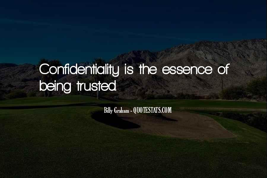 Trusted Man Quotes #123063