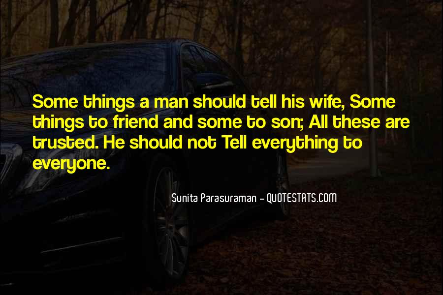 Trusted Man Quotes #159278