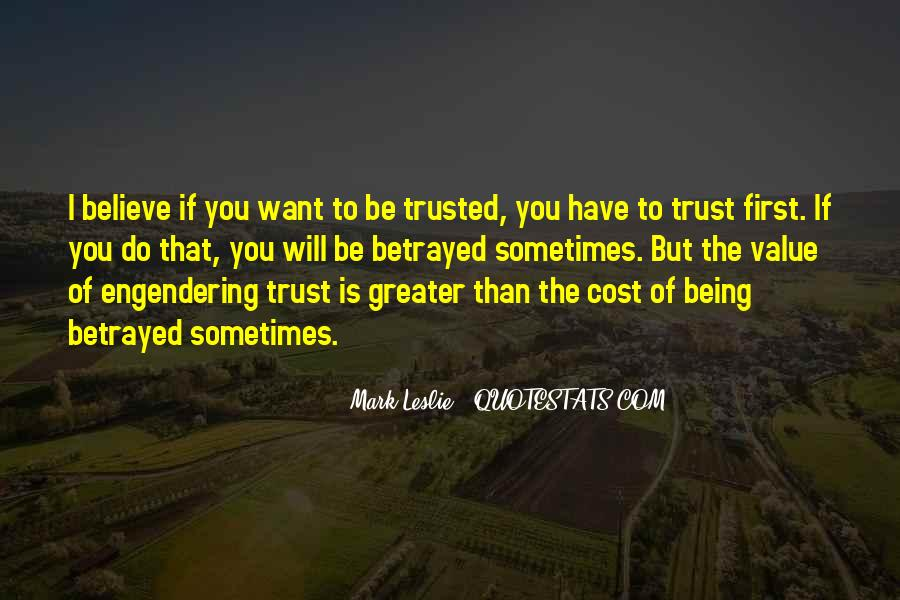 Trusted Man Quotes #173648