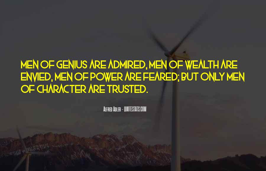 Trusted Man Quotes #30782