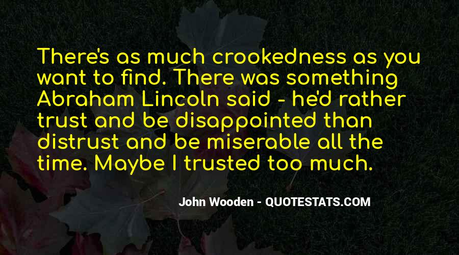 Trusted Man Quotes #37838