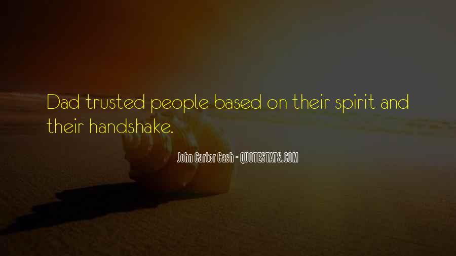 Trusted Man Quotes #39024