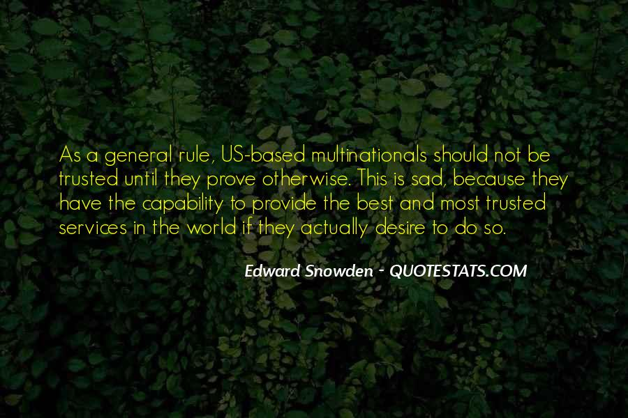 Trusted Man Quotes #43334