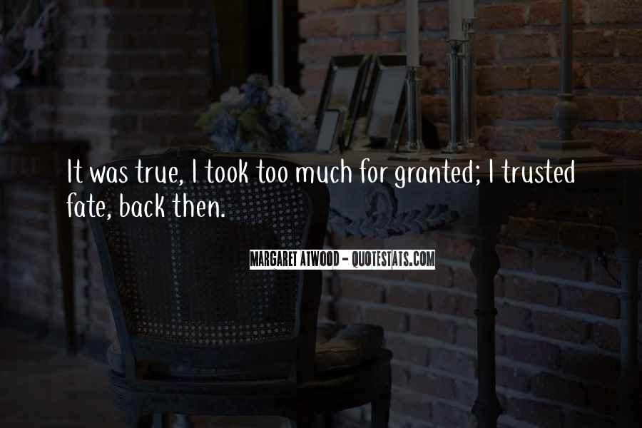 Trusted Man Quotes #70891