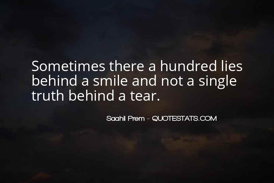 Top 14 Truth Behind The Smile Quotes: Famous Quotes ...