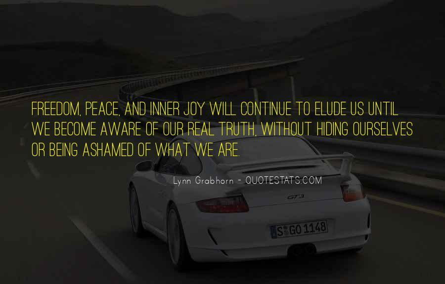 Truth Hiding Quotes #1145910