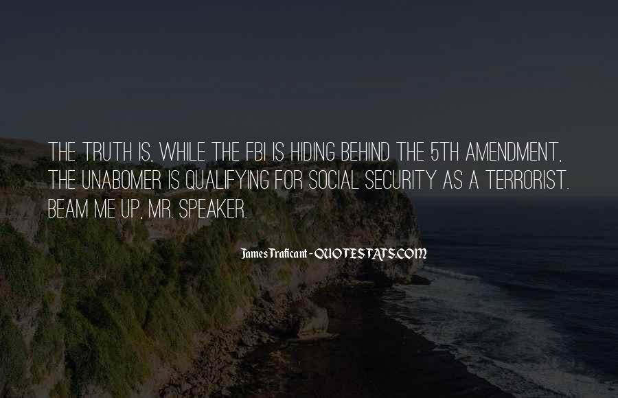 Truth Hiding Quotes #1300615