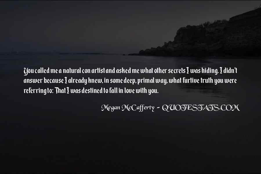 Truth Hiding Quotes #1455657