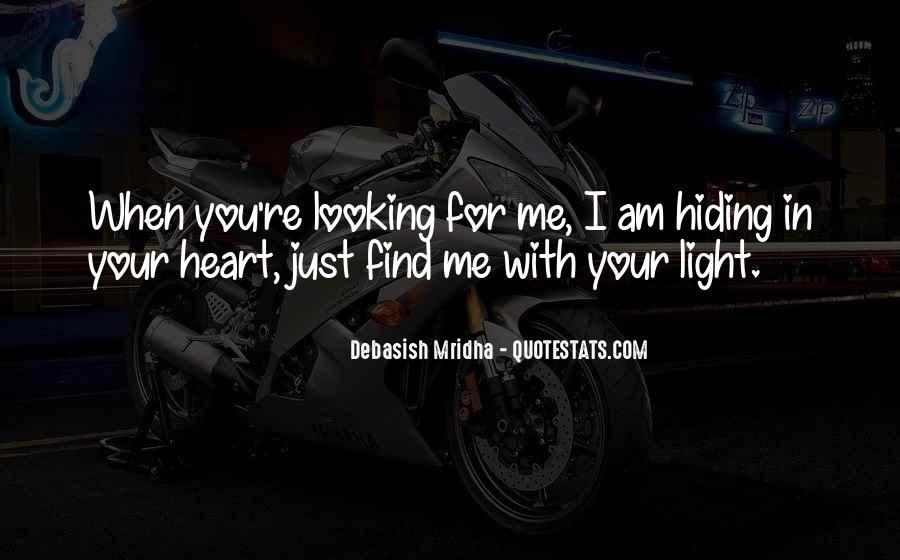 Truth Hiding Quotes #1475461