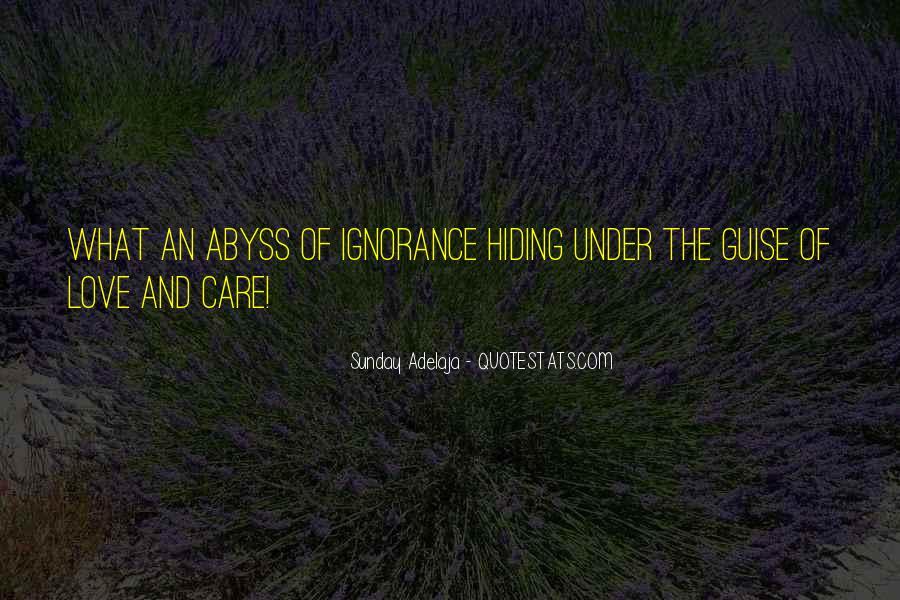 Truth Hiding Quotes #1679576