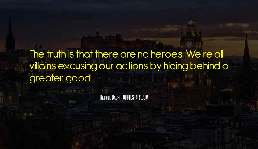 Truth Hiding Quotes #233522