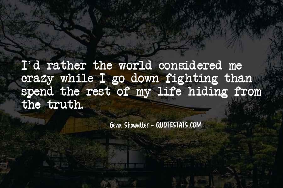 Truth Hiding Quotes #322001