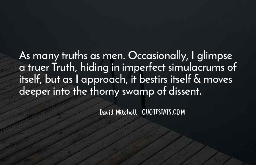 Truth Hiding Quotes #671951