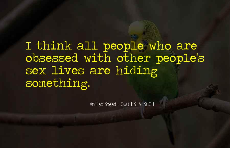 Truth Hiding Quotes #759486