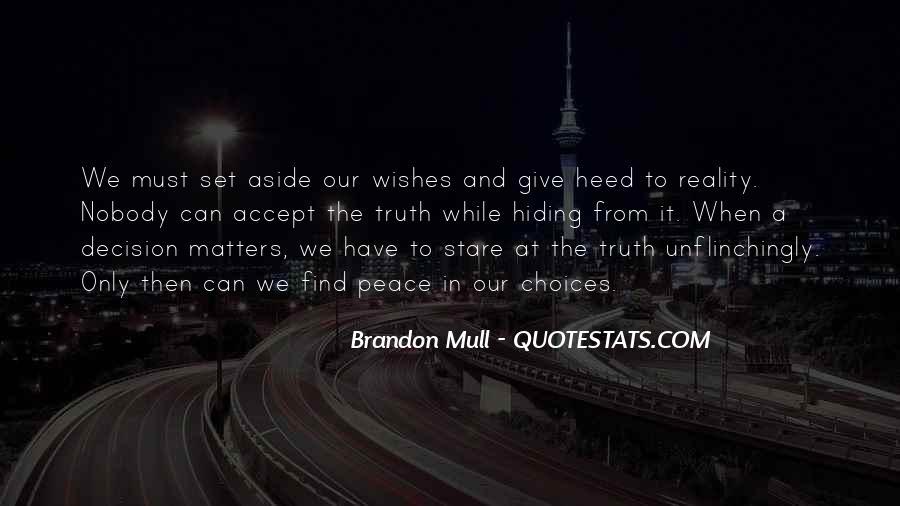 Truth Hiding Quotes #856991