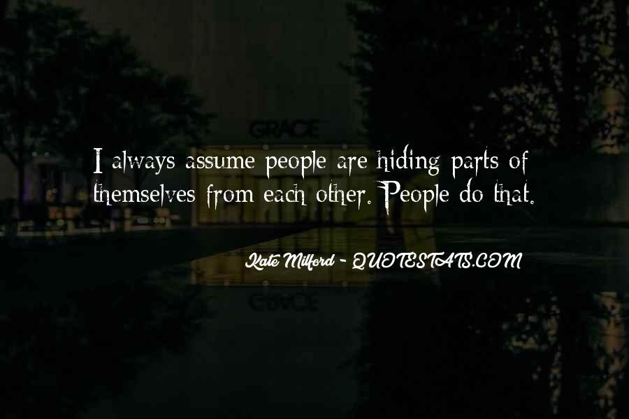Truth Hiding Quotes #887763