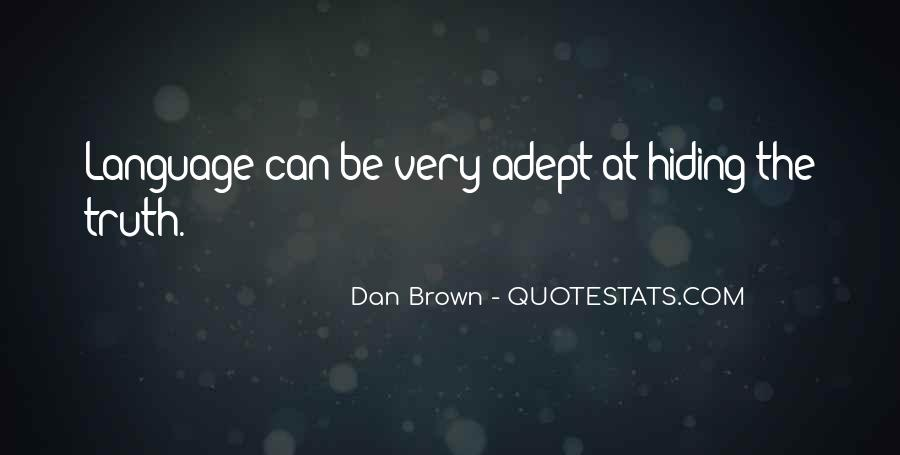 Truth Hiding Quotes #913475