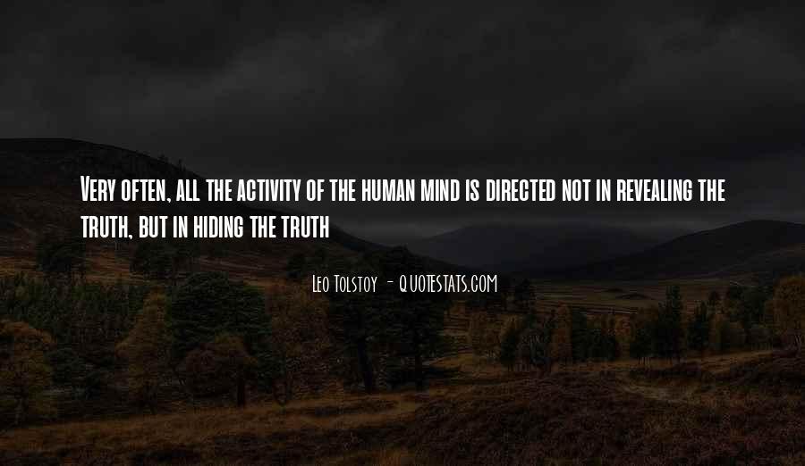 Truth Hiding Quotes #929377