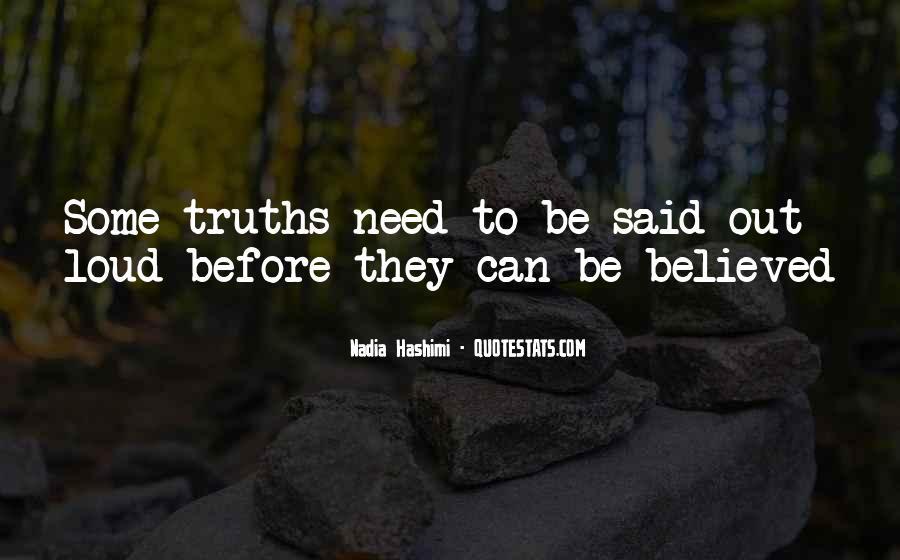 Truth Said Quotes #106864