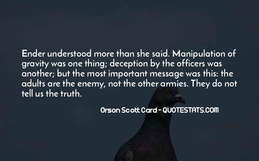 Truth Said Quotes #139944