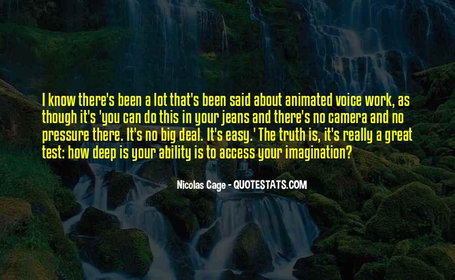 Truth Said Quotes #142003