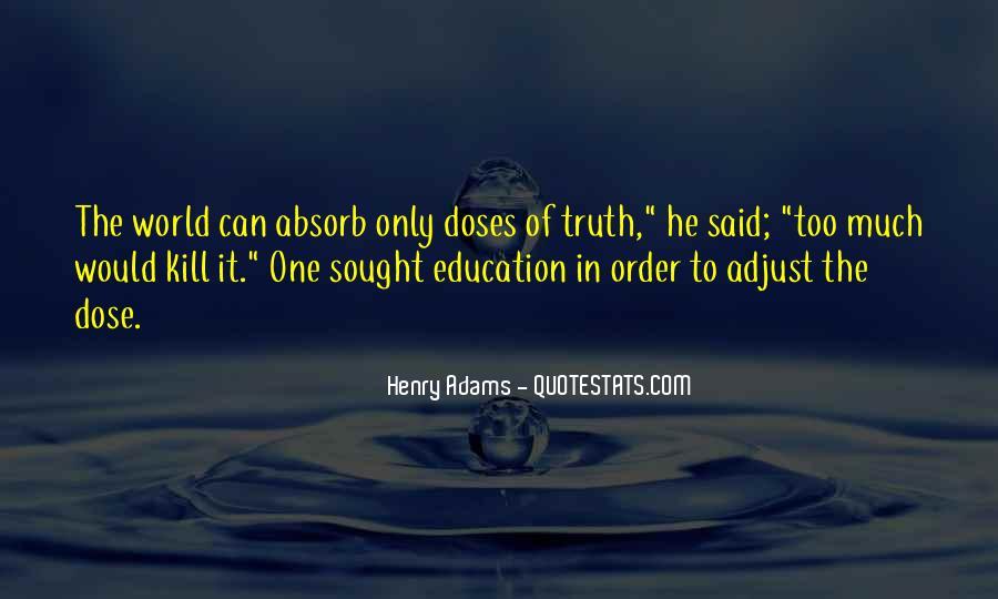 Truth Said Quotes #164909