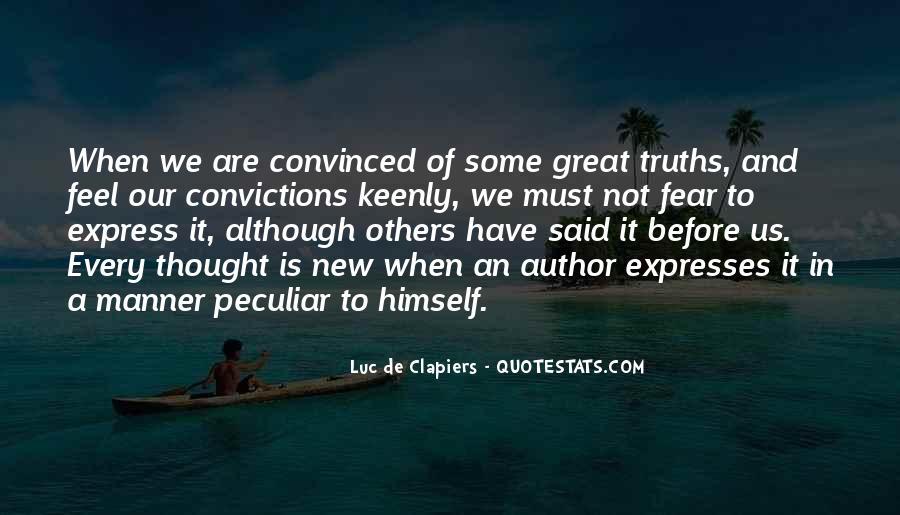 Truth Said Quotes #173080