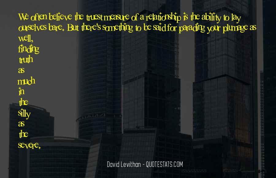 Truth Said Quotes #188843