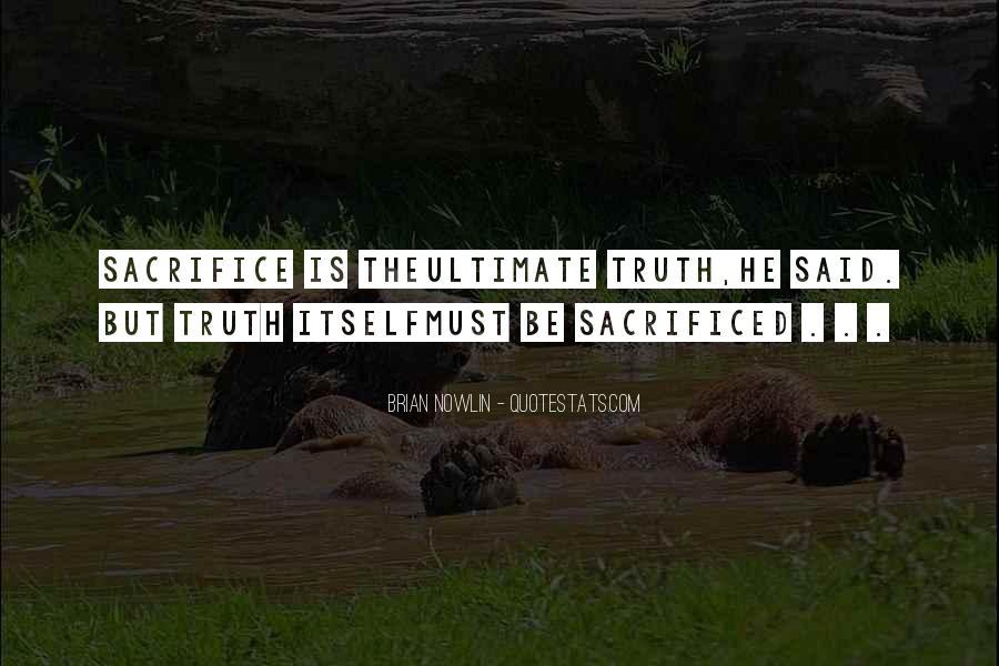 Truth Said Quotes #210164