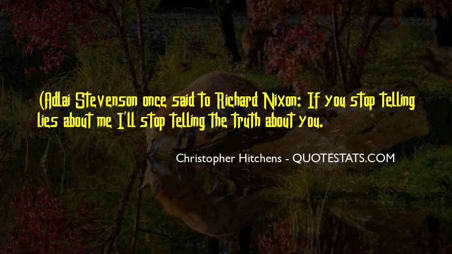 Truth Said Quotes #210713