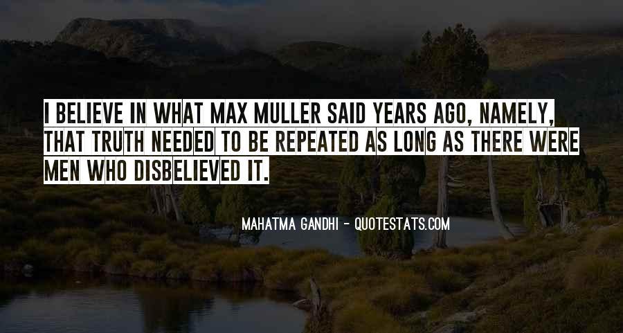Truth Said Quotes #217062