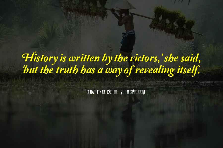 Truth Said Quotes #27501