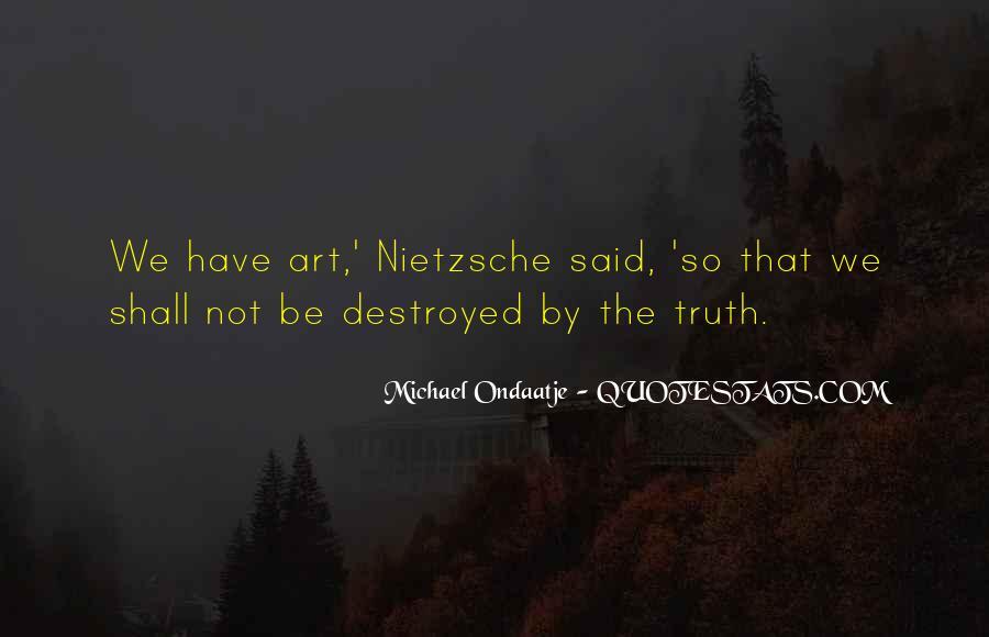 Truth Said Quotes #39353