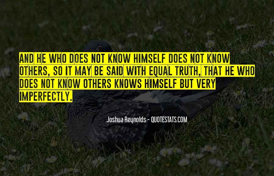 Truth Said Quotes #40237