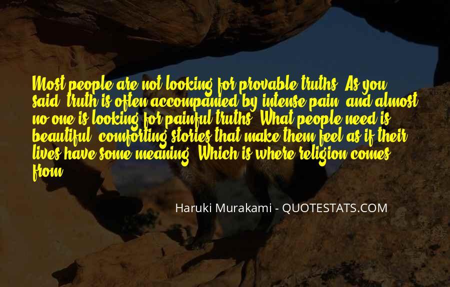 Truth Said Quotes #50269