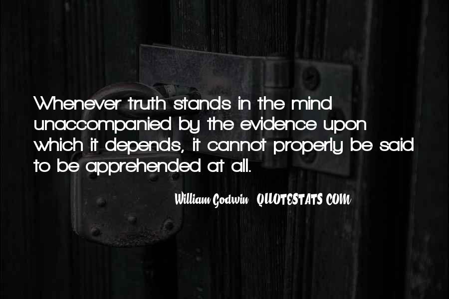 Truth Said Quotes #5376